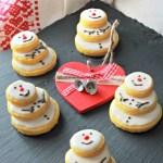 biscotti pupazzo di neve