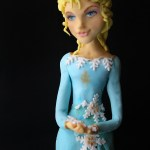 Elsa Frozen cake… another cake!