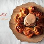 La challah di rose per Re-Cake
