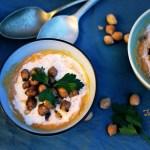 Zuppa di carote e ceci