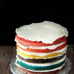 Rainbow cake, la torta arcobaleno
