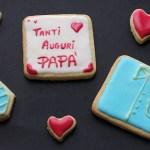 Biscotti per la festa del papà passo a passo