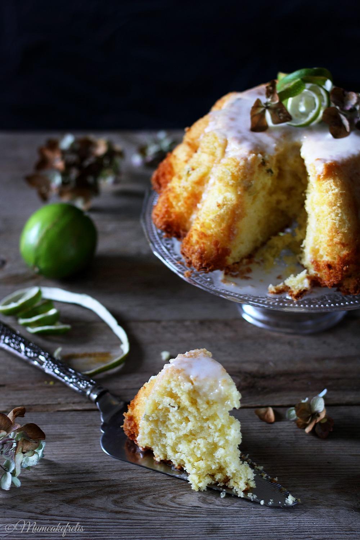 Lime Chiffon Cake (Printer Friendly Recipe)