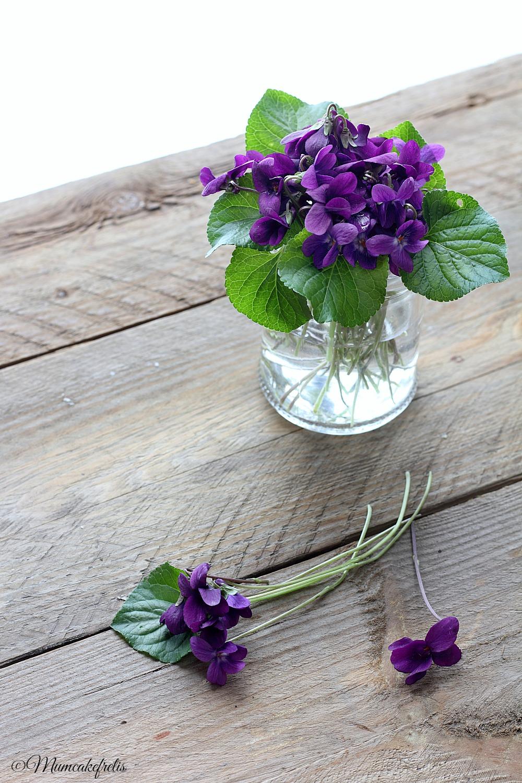 Ricetta Violette candite