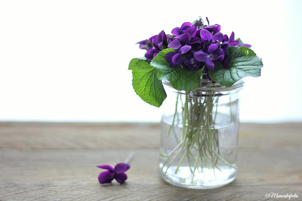 Violette candite,ricetta base