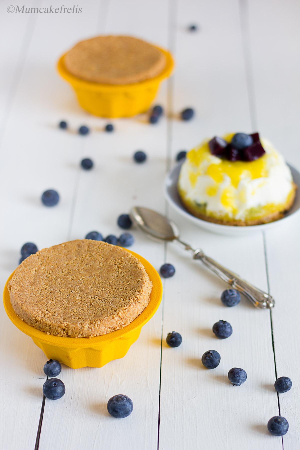 Cheesecake al mango fredda ricetta