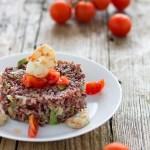 riso zucchine e gamberetti calorie