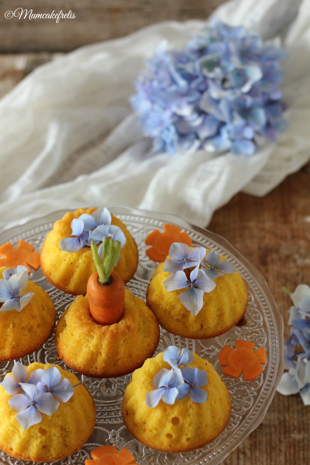 mini fluffose alle carote
