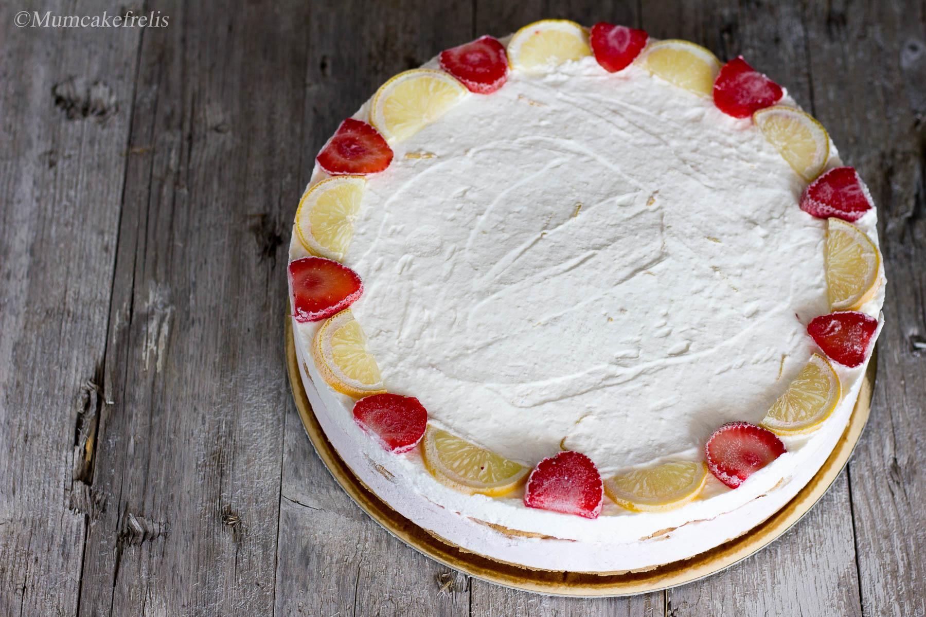 cheesecake senza cottura al limone