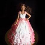 Barbie Doll Cake, una principessa in rosa.