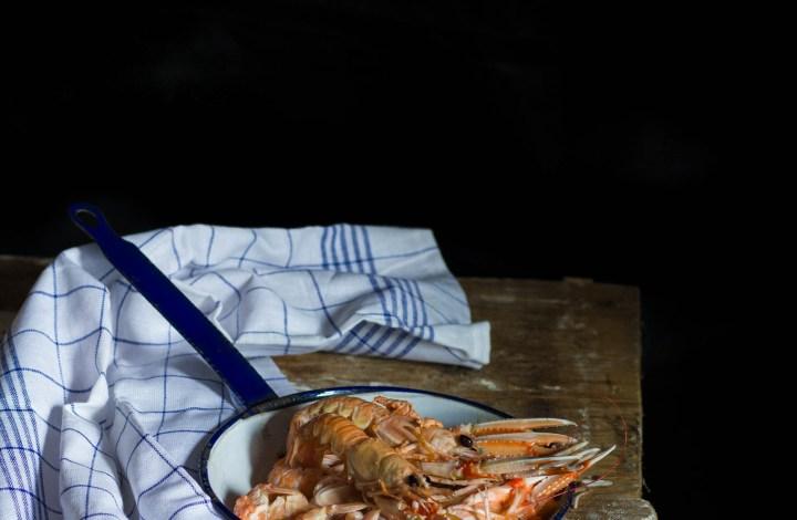 Giornata dei crostacei per il calendario del cibo italiano