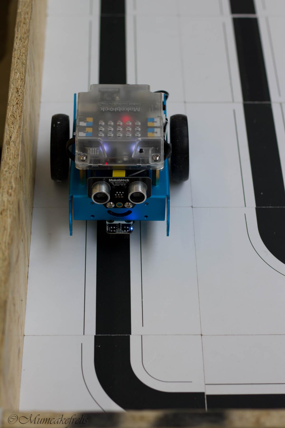 robot percorso