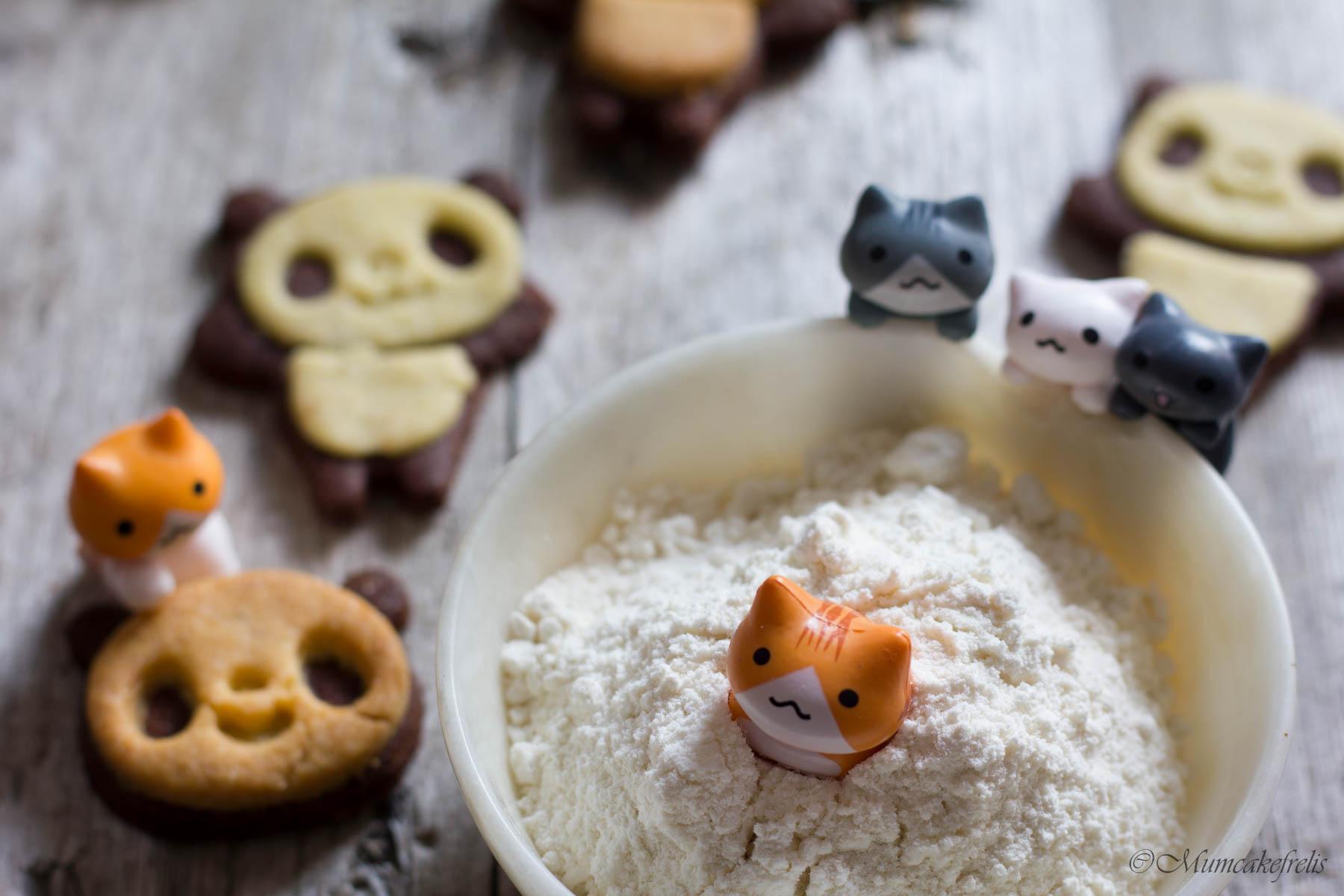 biscotti panda sucrè