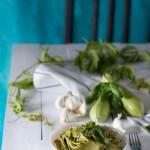 Pasta al Pesto di zucchine, facile e veloce!