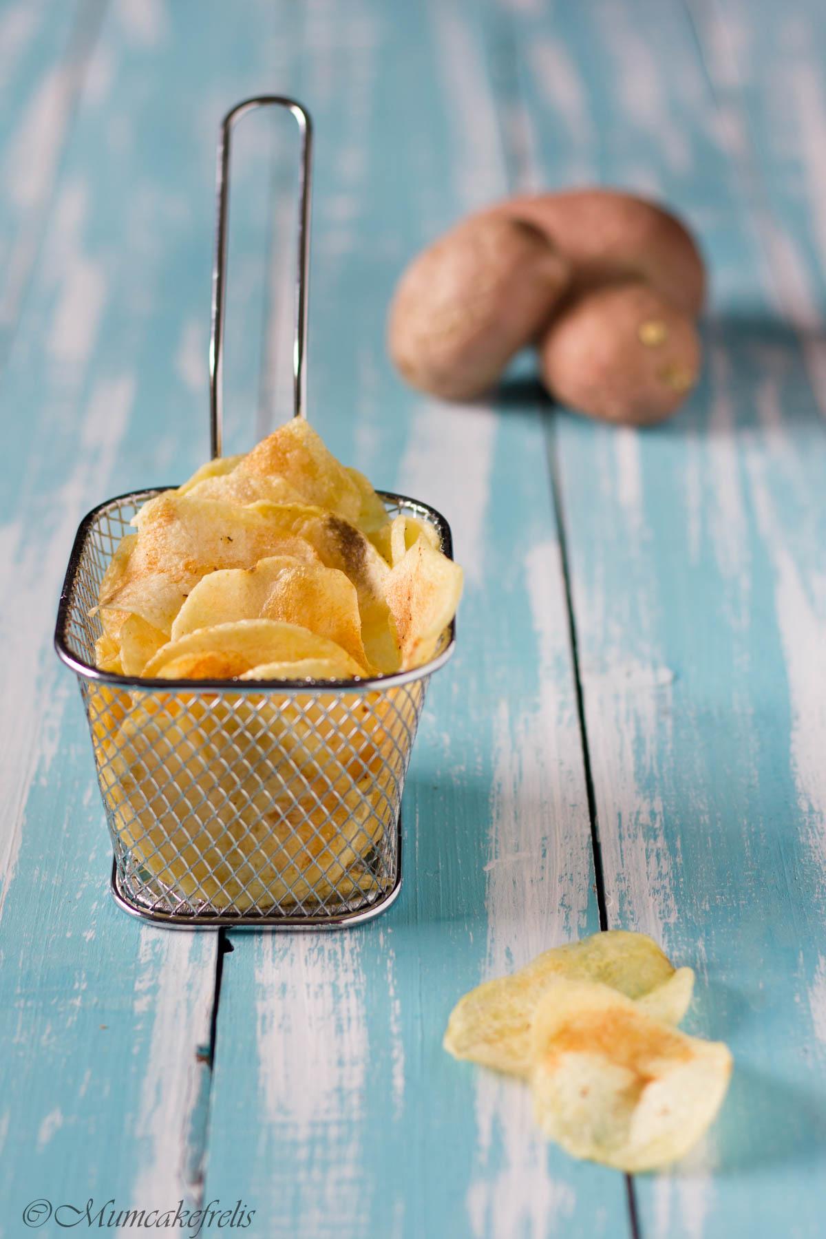quale olio per le chips di patate