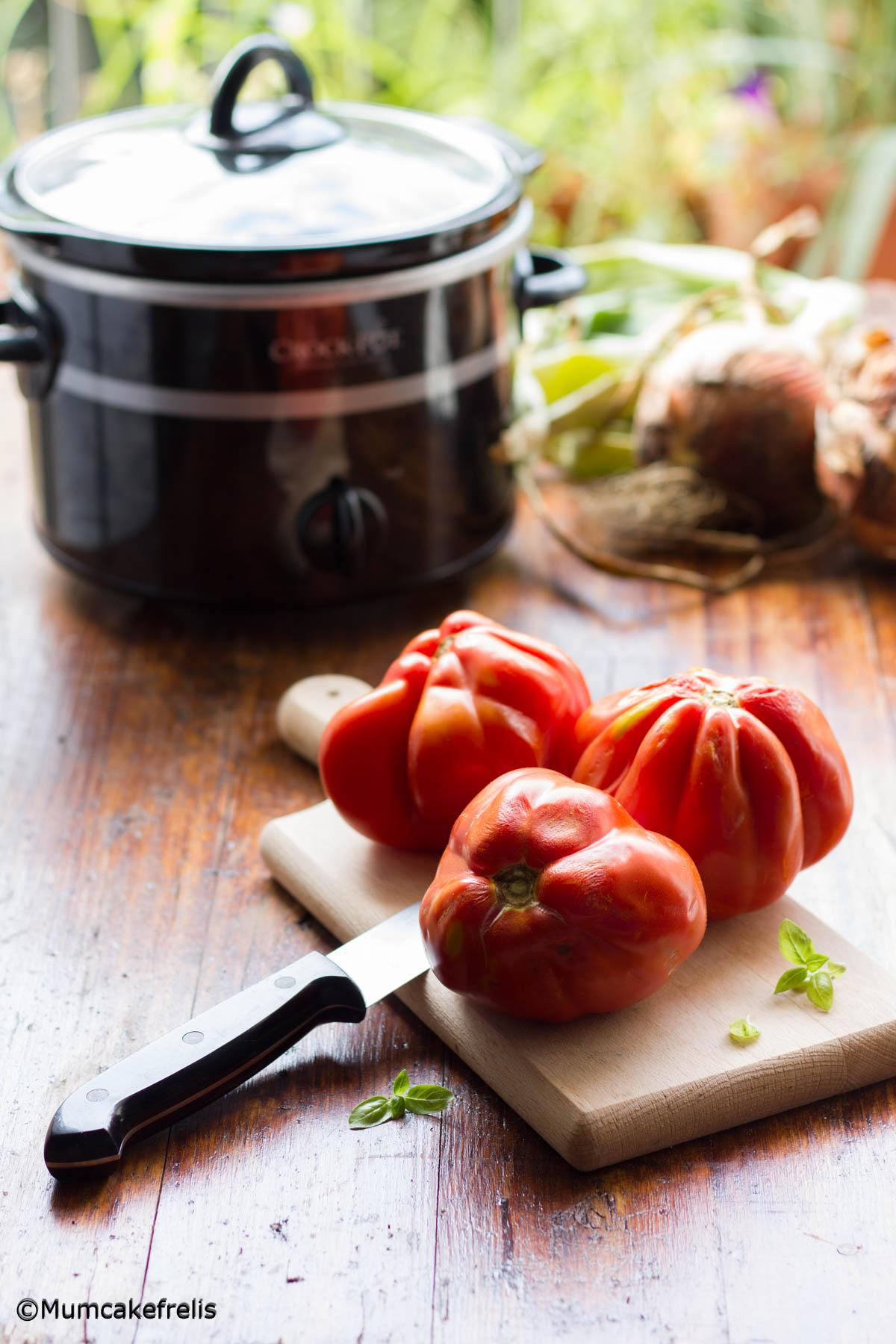come fare passata di pomodoro nella slow cooker