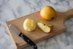 medaglioni di manzo con salsa di mele tutorial