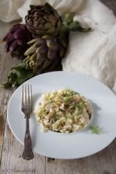 la ricetta del risotto ai carciofi