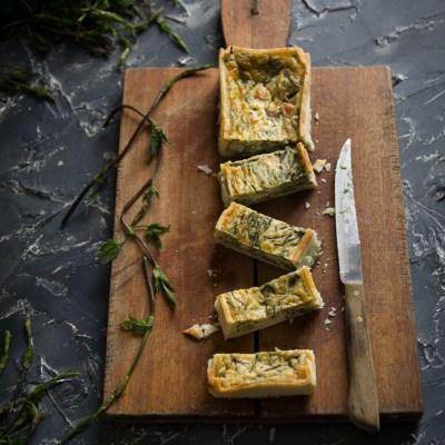 Torta salata primaverile con bruscandoli.                                        5/5(7)