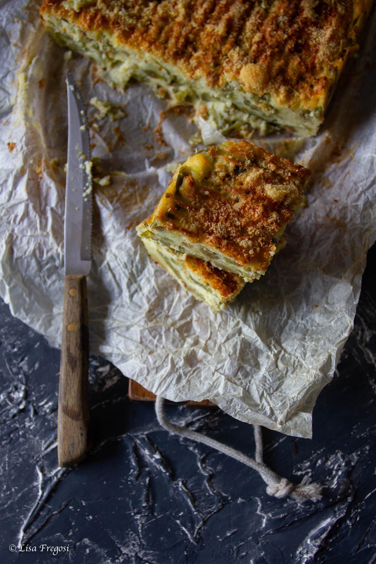 La ricetta del polpettone di fagiolini alla ligure