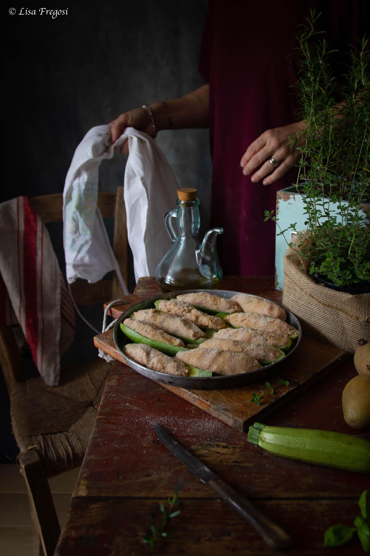 come far le zucchine ripiene di carne