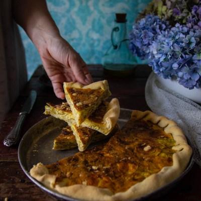 Torta di zucchine, la ricetta della nonna.                                        5/5(1)
