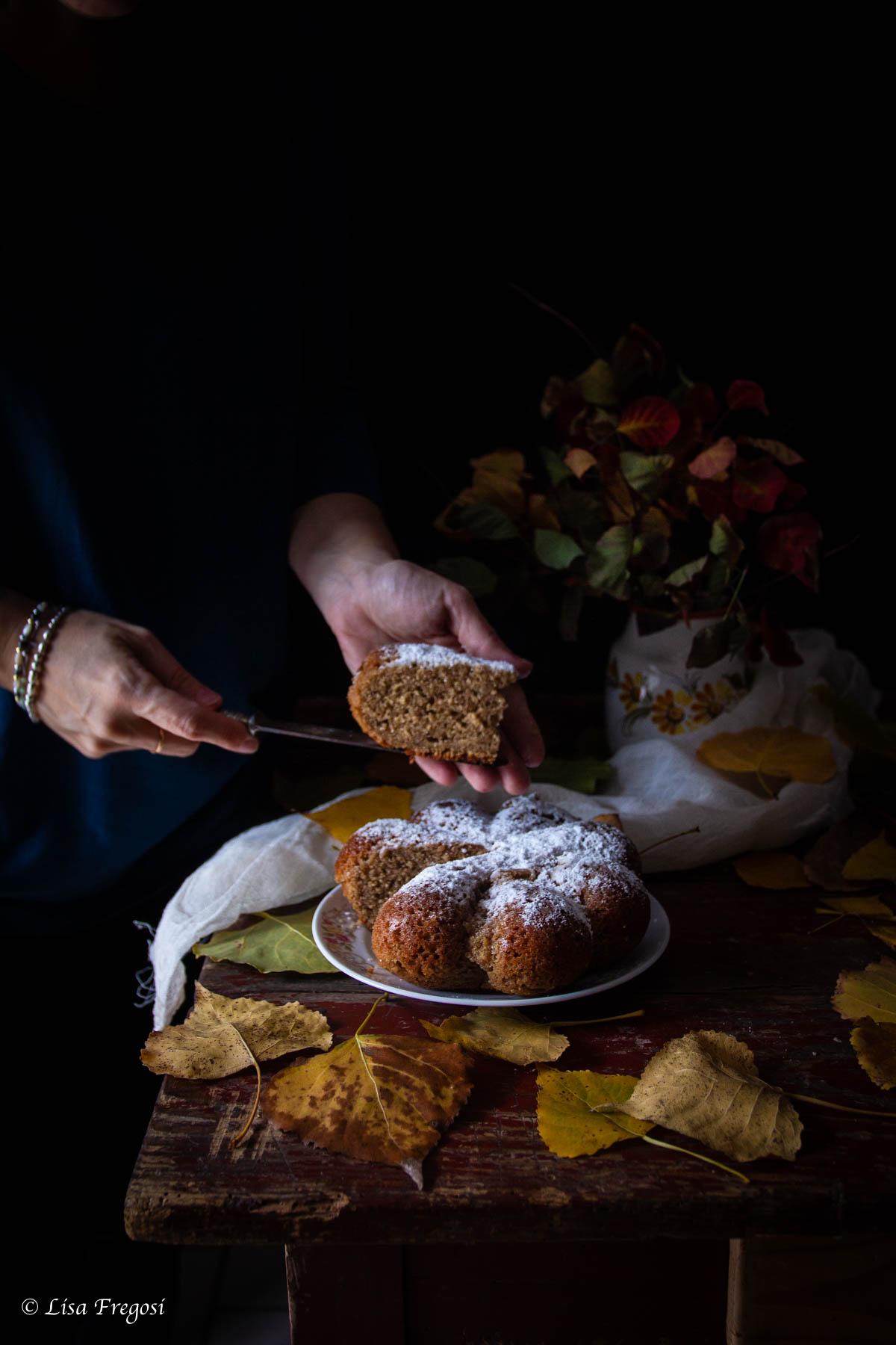 la ricetta della torta con panna nell'impasto