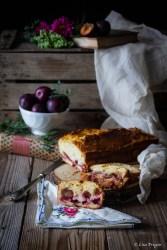 la ricetta del plumcake soffice alle susine