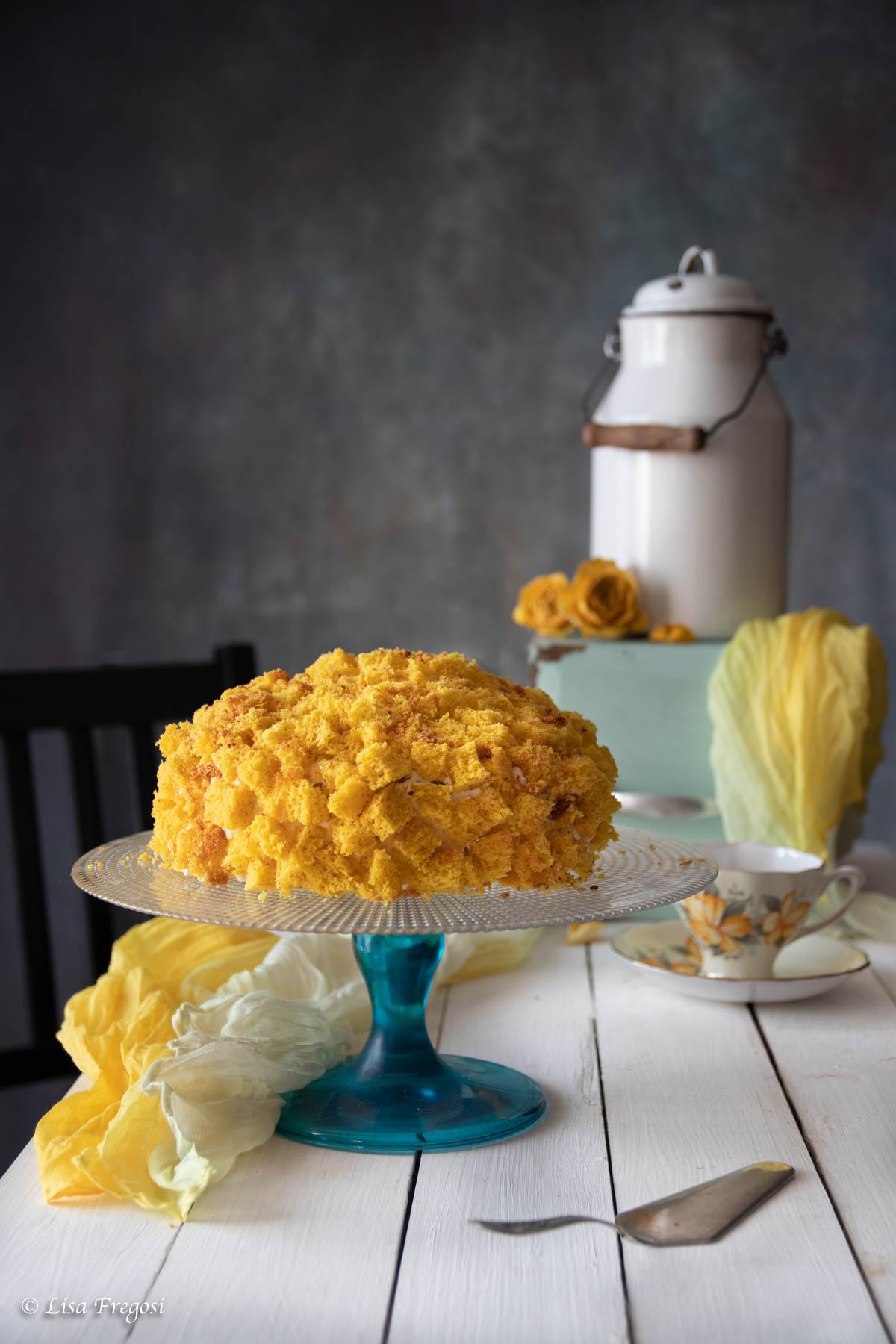 Torta Mimosa - Ricetta Torta Mimosa