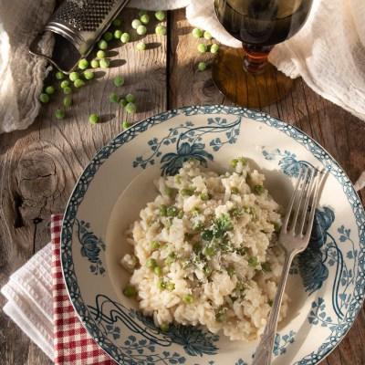 Risi e bisi, il risotto con i piselli.                                        5/5(1)