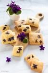 Come fare biscotti con violette