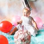 Tanti auguri Nadia, primo compleanno con smash cake!