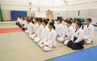 NTU Aikido Club Exchange Students