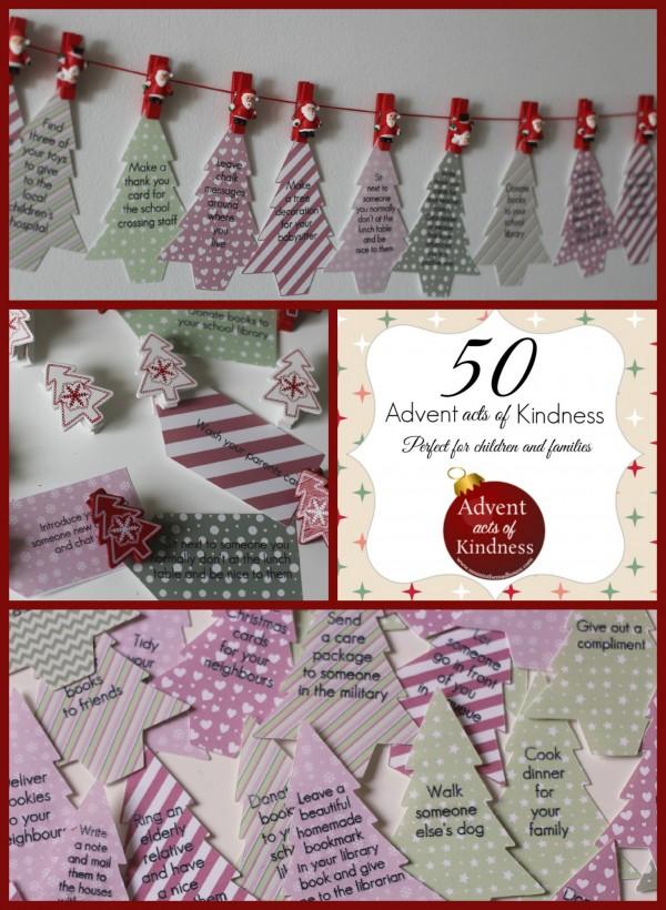 Diy Kindness Calendar : Easy diy advent calendar ideas for a thrifty christmas