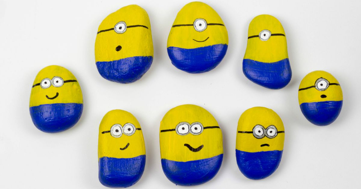 Minion Stones A Fab Minion Craft Mum In The Madhouse