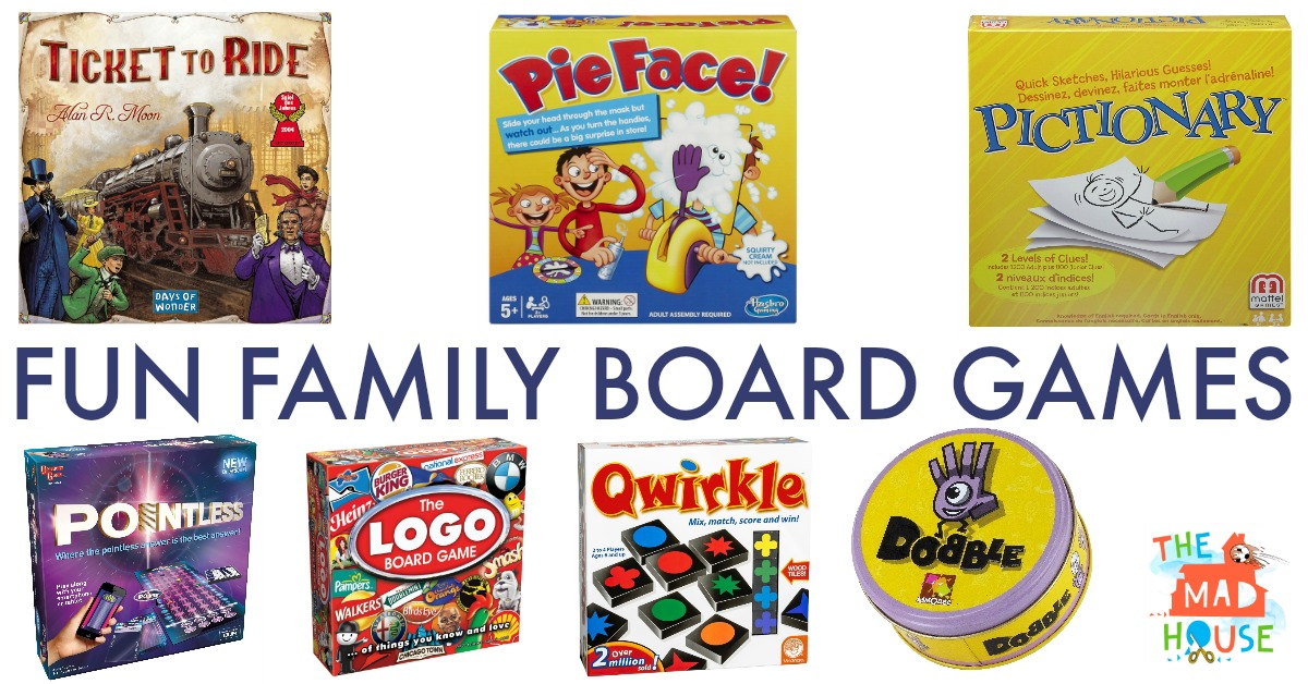 Family Games For A Perfect Family Night In Win Your