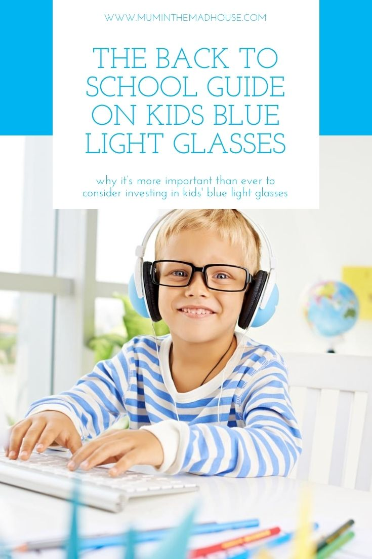 Due to learning being performed more and more on screens, it's more important than ever to consider investing in kids' blue light glasses.