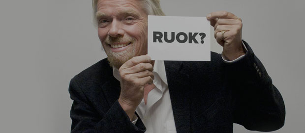Richard Branson R U OK?