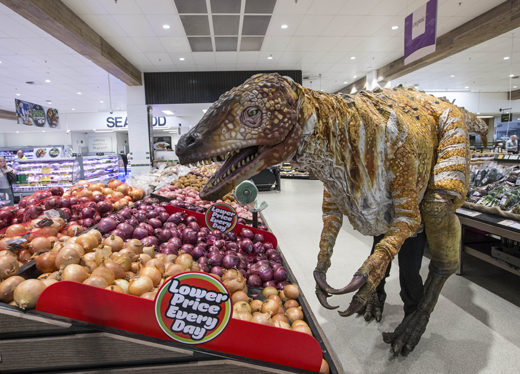 Woolworths' Ancient Animals Collectibles