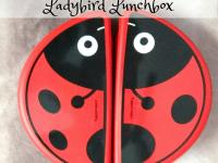 Tupperware Folder Keeper Bug Ladybird Lunchbox