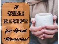 chai recipe