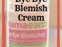 mamaearth bye bye blemish
