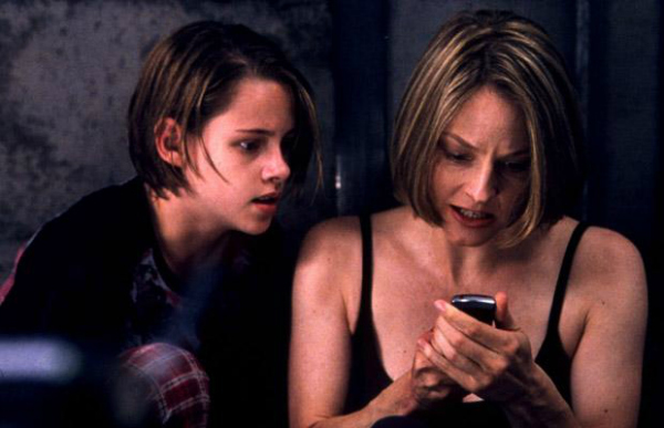 Meg Altman and Kristen Stewart Panic Room