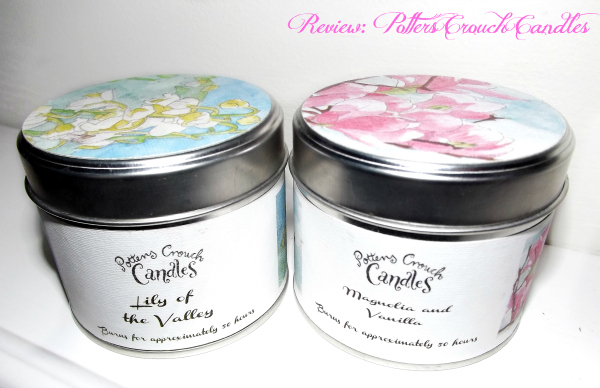 potters crouch candles handmade candles luxuious handmade candles from the UK