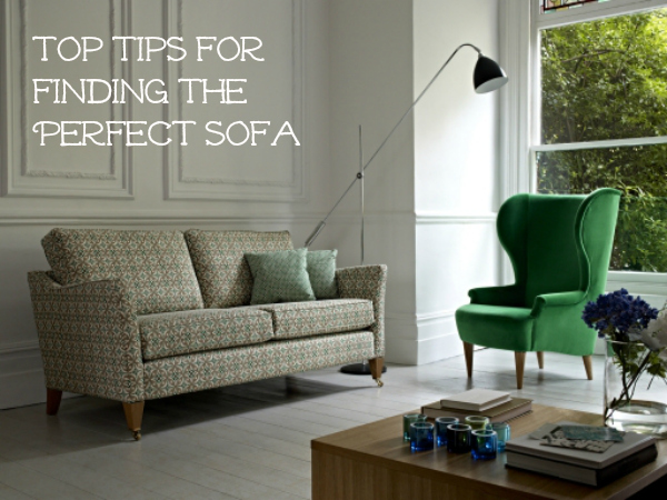 finding the perfect sofa