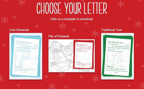 Christmas activities write a letter to santa mummy alarm write a letter to santa spiritdancerdesigns Image collections