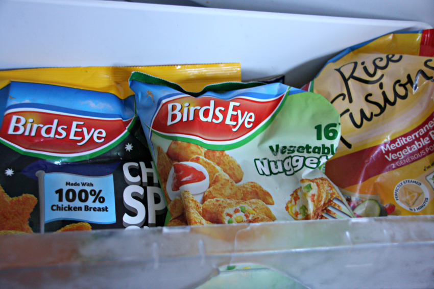 Birds Eye frozen food