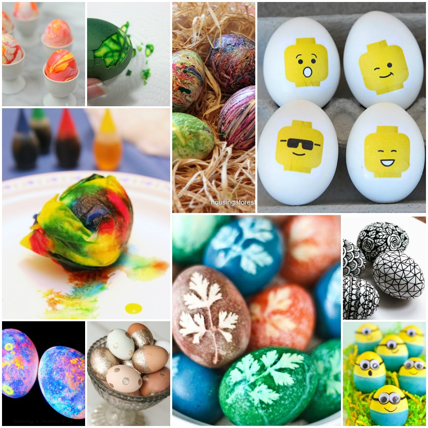 how to dye Easter Eggs, how to decorate Easter eggs, Easter egg decorations