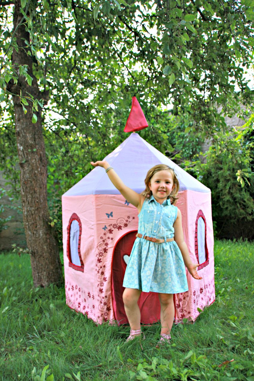 princess castle tent, fairy castle tent, play tent for children, big game hunters