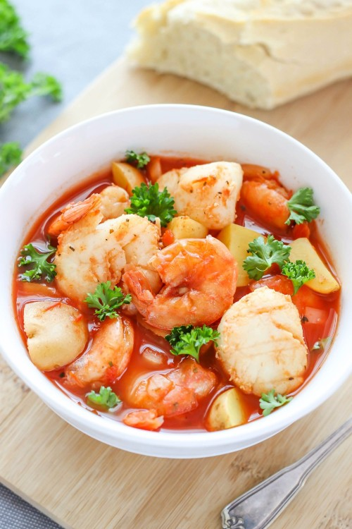 slow cooker recipes seafood stew